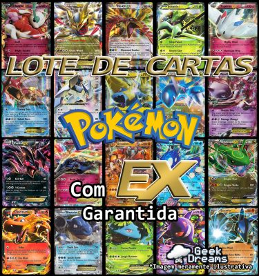 Lote Pokémon Geek Dreams