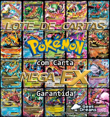 Lote Mega Ex Pokémon Geek Dreams