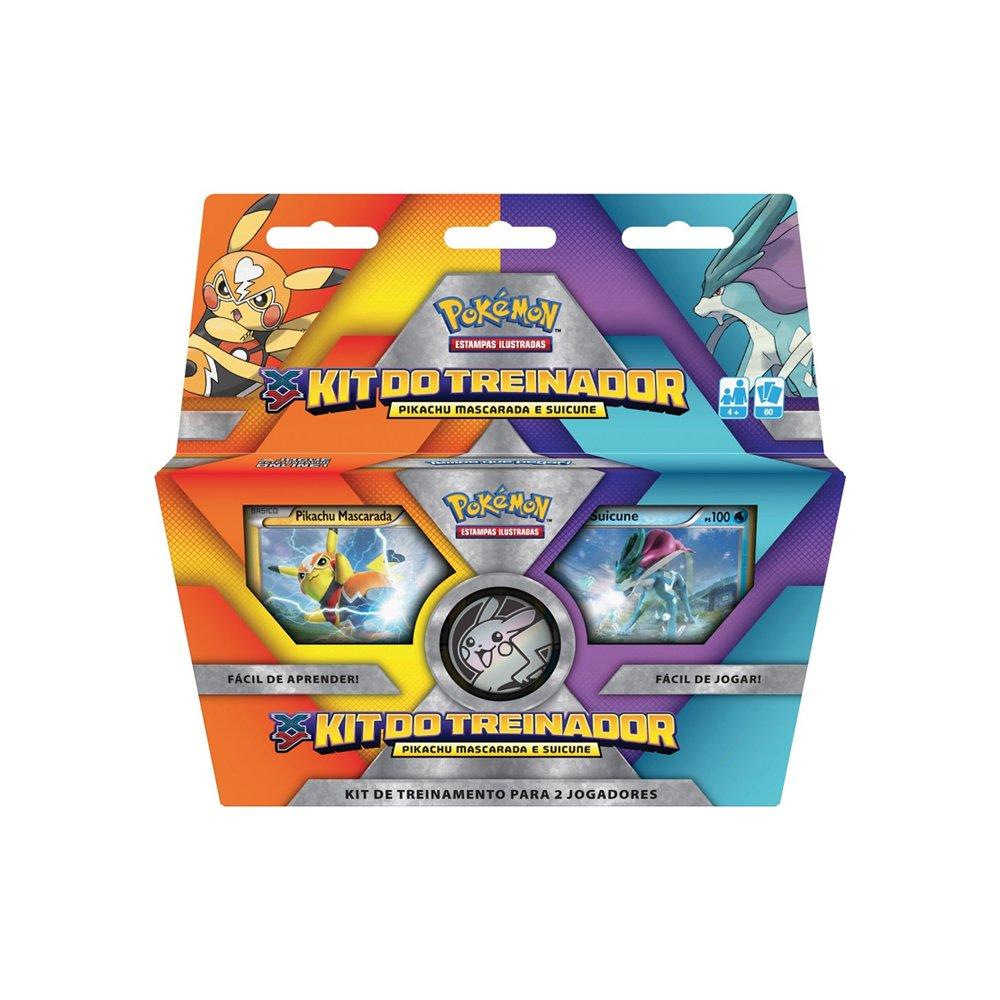Kit do Treinador Pikachu Suicune